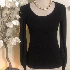 Black Ann Taylor Sweater